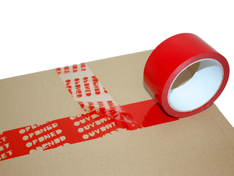 Security adhesive tape